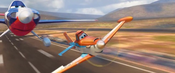 DVD Giveaway 迪士尼動畫 DVD 《PLANES: FIRE & RESCUE》