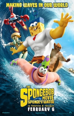 Movie 請你看好戲《The Spongebob Movie: Sponge Out of Water首映》