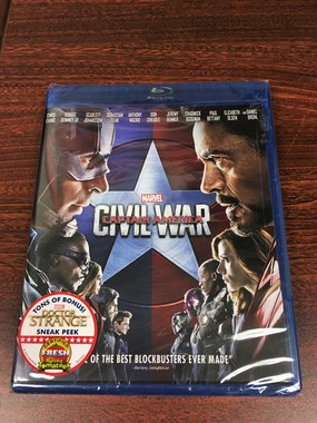 請你看好戲《CAPTAIN AMERICA: CIVIL WAR》DVD