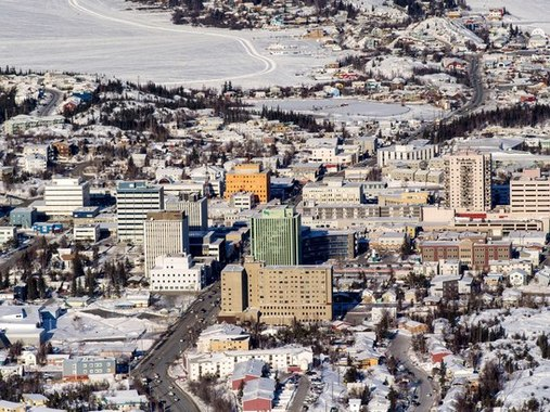 黃刀(Photo from City of Yellowknife Facebook)
